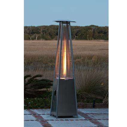 Flame Heater – Stainless Steel