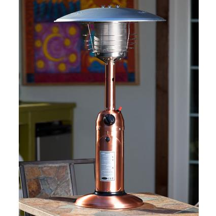 Table Top Patio Heater – 10,000 BTU – Copper