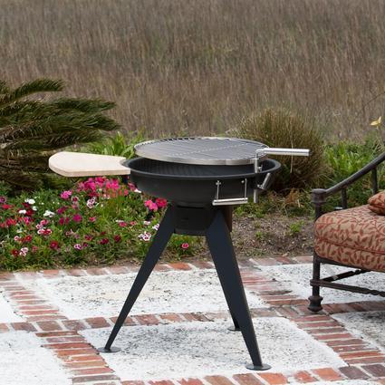 Hot Spot Terrace 600 Charcoal Grill