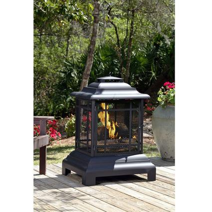 Pagoda Patio Fireplace