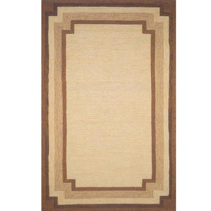 Ravella Rug - Border Design - 10 X 8, Natural