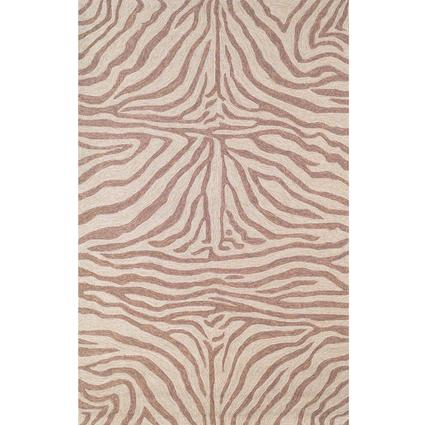 Ravella Rug-Zebra- 8 X 5, Brown