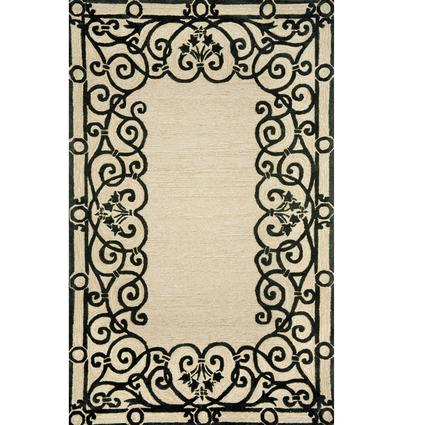 Spello Rug- Wrought Iron- 8 X 2, Black