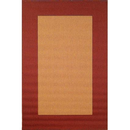 Tropez Collection Rug – Border-Red 35