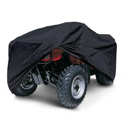 ATV Storage Covers-Black Large ATV Storage Cover