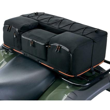ATV Rear Rack Bag with Cooler-RealTree AP Camo ATV Rear Rack Bag with Cooler
