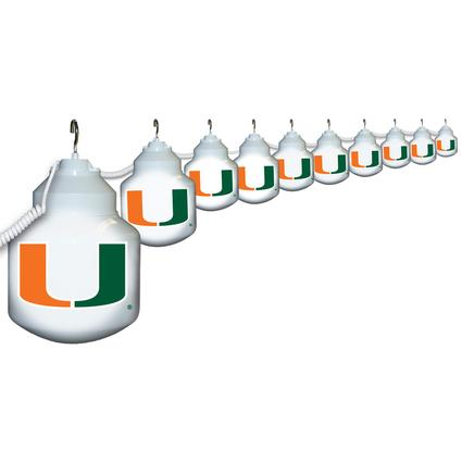 Collegiate Patio Globe Lights, 10 light sets-Miami