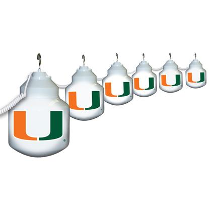 Collegiate Patio Globe Lights, 6 light sets-Miami