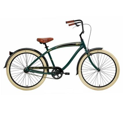 Nirve Classic One-Speed Bike-Forest Green