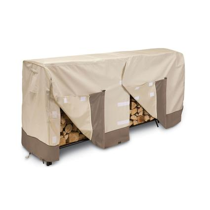 Patio Log Rack Covers-Fits 8' log racks