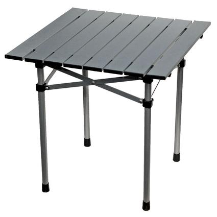 Aluminum Roll-Up Side Table