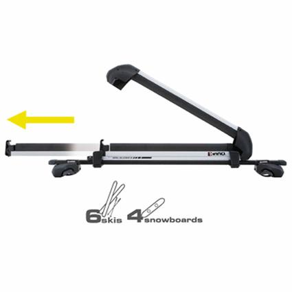 Rail Slider II Ski Rack