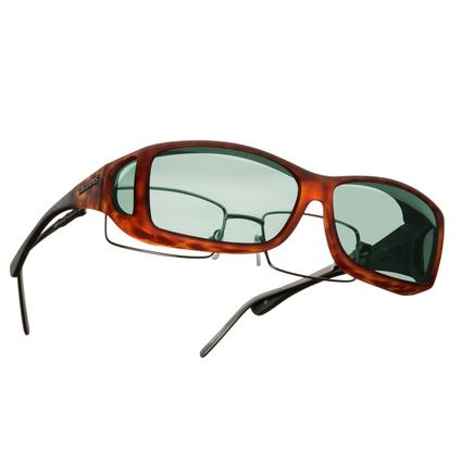 Cocoons OveRx Sunglasses - Medium/Large, Tortoise Frame/Gray Lenses
