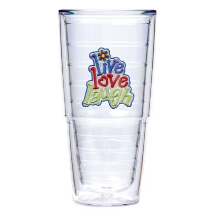 Tervis Tumbler 24 oz. Live, Love, Laugh