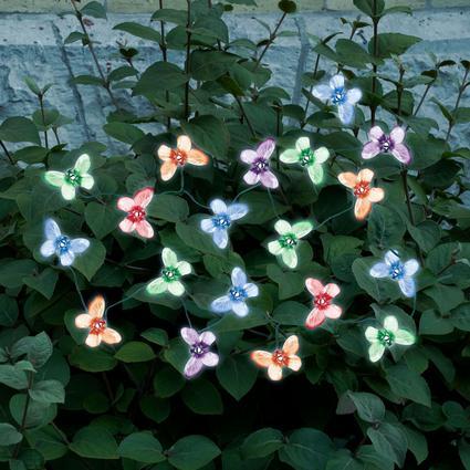 Butterfly Solar String Lights