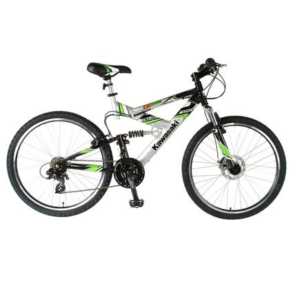 Kawasaki DX226FS Dual Suspension Bike
