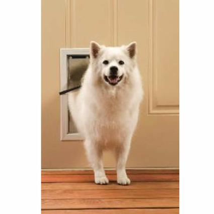Freedom Aluminum Pet Door - Medium