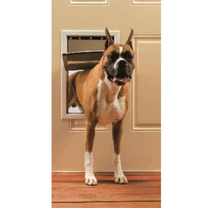 Freedom Aluminum Pet Door - Large