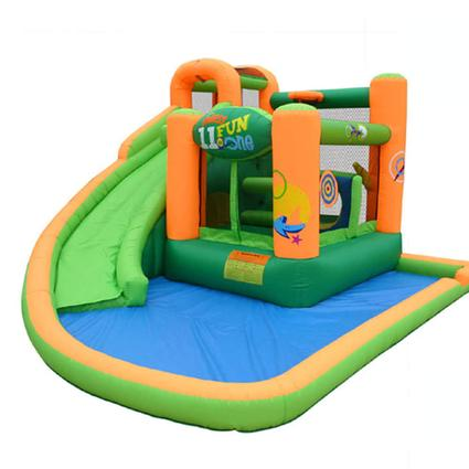 Endless Fun 11 in 1 Bounce House with Waterslide
