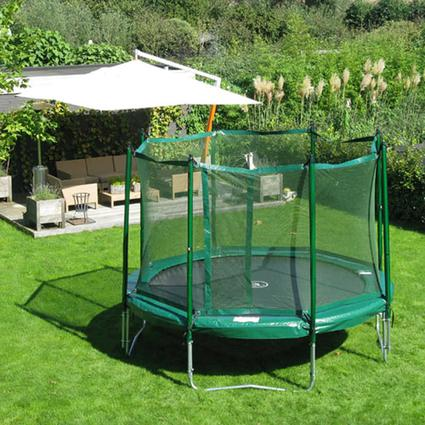 JumpFree 14' Trampoline with Safety Enclosure