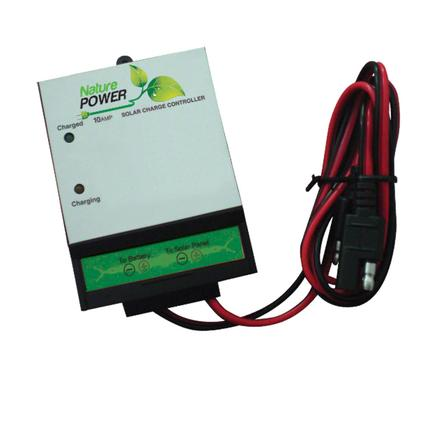 Nature Power Solar Battery Charge Controllers - 8 Amp
