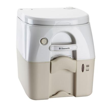 Dometic Portable RV/Marine Toilet - 5 Gallon, Tan