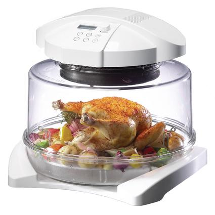 Halogen Oven with Extender Ring