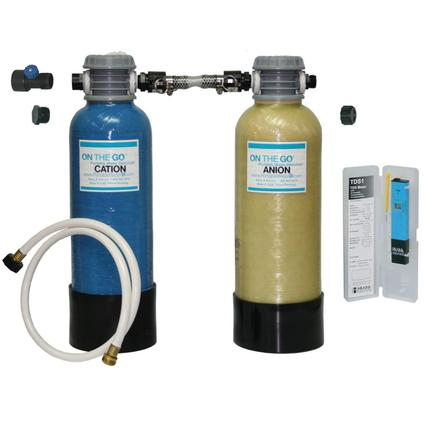 Portable Dual Bed Deionizer