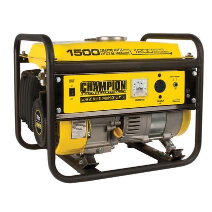 Champon 1500 Watt Portable Generator