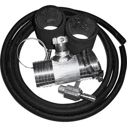 "Diesel Install Kit, Fits Chevy and GMC Trucks up thru 2010 with 2"" fuel fill hoses"