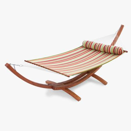 Summer Stripe Poly Hammock Bed