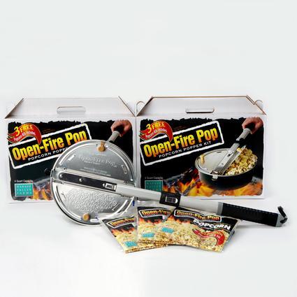Open-Fire Pop Popcorn Popper