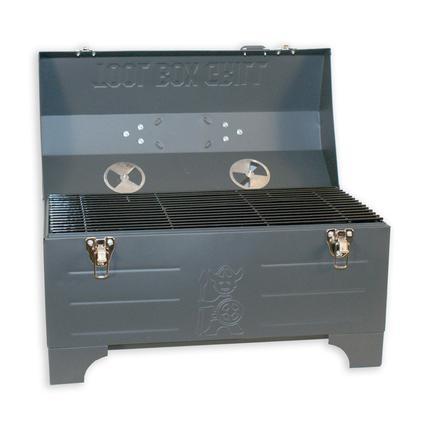 Keg-a-Que Charcoal Toolbox Grill
