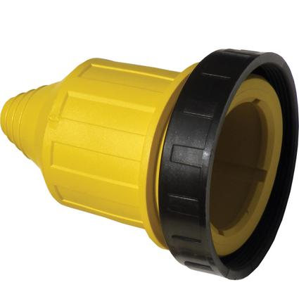 30/20 Amp Weatherproof Cover with Threaded Ring