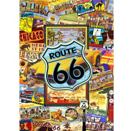 Route 66 Puzzle – 1000 Pieces