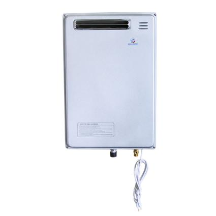 EccoTemp 40H-NG Outdoor Natural Gas 6.3 GPM Whole House Indoor Tankless Water Heater