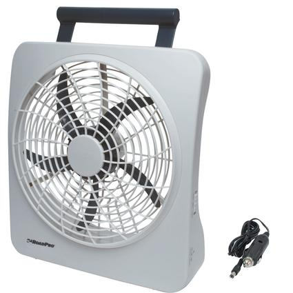 Dual Power Portable Fan