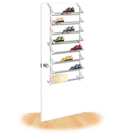 24 Pair Over-Door Shoe Rack