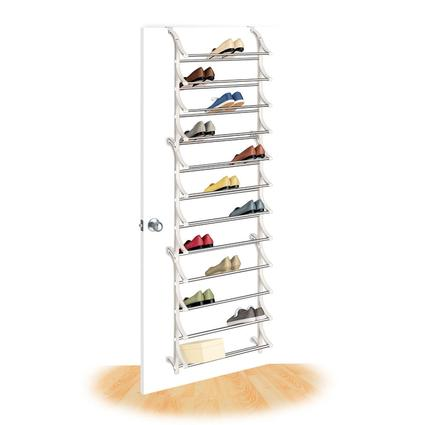 36 Pair Over-Door Shoe Rack