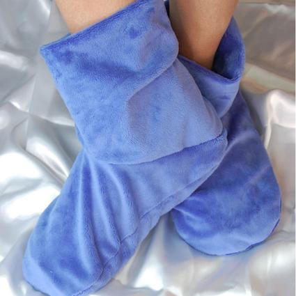 Herbal Comfort Booties- Slate Blue
