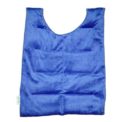 Herbal Comfort Back Wrap, Slate Blue