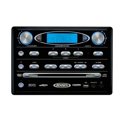 Jensen Wall Mount DVD Radio with HDMI