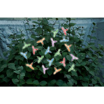 Hummingbird Solar String Lights