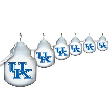 Collegiate Patio Globe Lights, 6 light set- UK