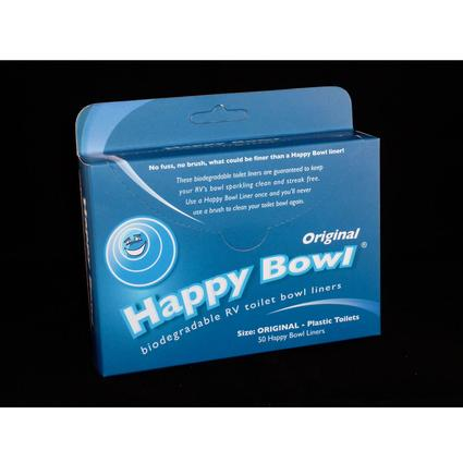 Happy Bowl Liner Original- for plastic bowl toilets
