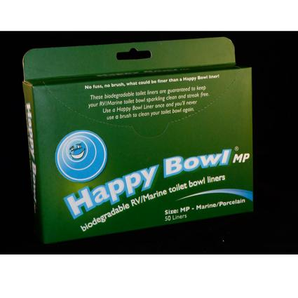 Happy Bowl Liner MP for Marine and Porcelain Bowl Toilets