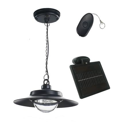 Nature Power Solar Hanging Shed Light
