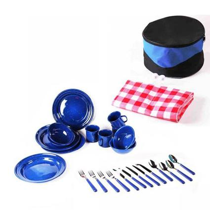 29 Piece Picnic Set - Blue