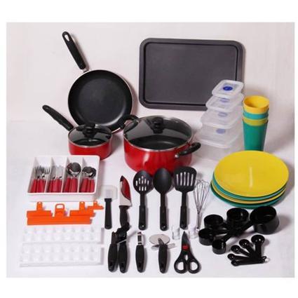 67 Piece Cabin Cookware Starter Set