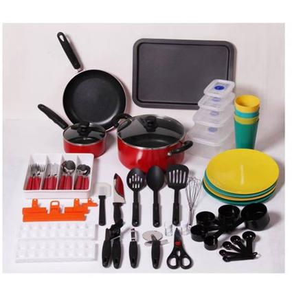 67 Piece Kitchen Starter Set